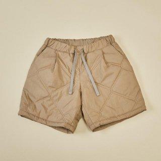 MOUN TEN. / quilt half pants / beige