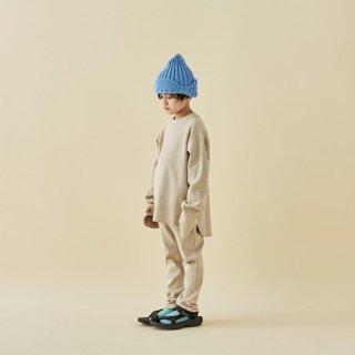 MOUN TEN. / knit flight cap / sky blue