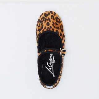 La Cadena / JAPONESA Leopard Velour / TOSTADO LEO x BLK