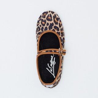 La Cadena / JAPONESA Leopard Velour / CRUDO LEO x BLK