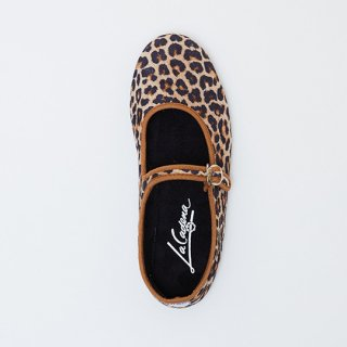 La Cadena / JAPONESA Leopard Velour / CRUDO LEO x BLK / adult