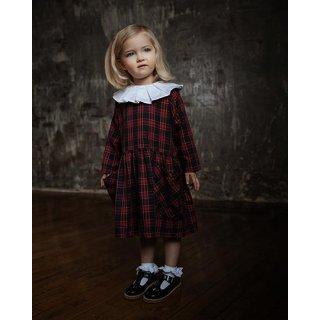 AS WE GROW / POCKET DRESS / Red Tartan