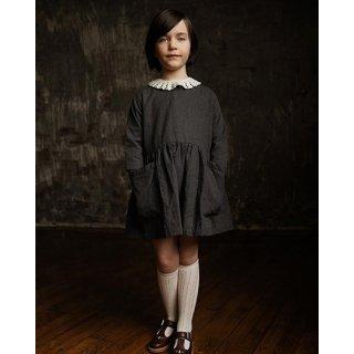 AS WE GROW / POCKET DRESS / Charcoal