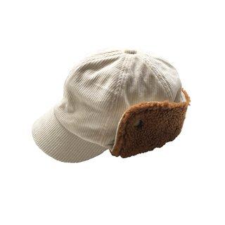 chocolatesoup / CORDUROY X BOA CAP / BEIGE