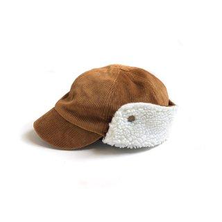 chocolatesoup / CORDUROY X BOA CAP / BROWN
