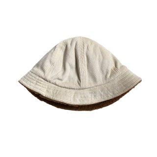chocolatesoup / CORDUROY X BOA REVERSIBLE HAT / BEIGE