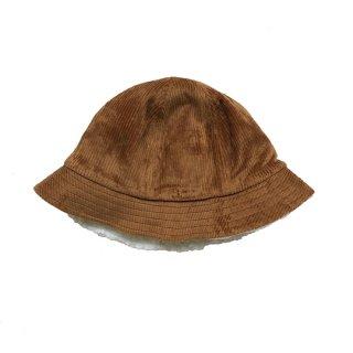 chocolatesoup / CORDUROY X BOA REVERSIBLE HAT / BROWN