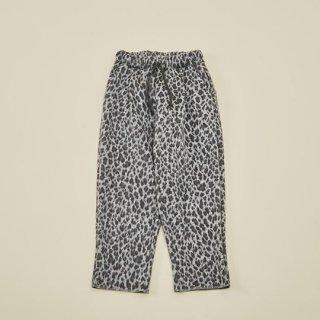 MOUN TEN. / animal shaggy 1tuck pants