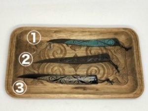 木彫りペーパーナイフ