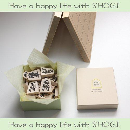 Have a happy life with SHOGI 将棋セット お洒落な箱入