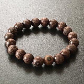 タガヤサンの数珠ブレスレット(木珠,8mm珠)