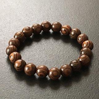 ボコーテの数珠ブレスレット(木珠,8mm珠)