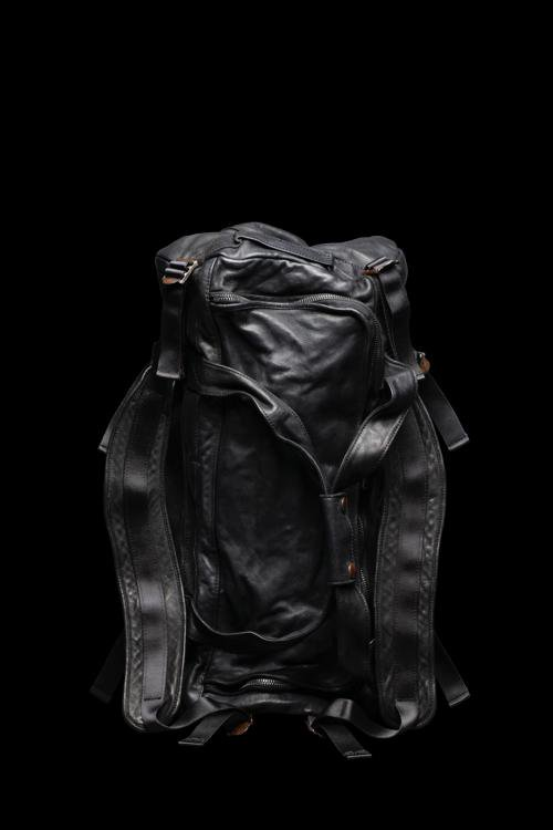 ITALY SHOULDER + JP STEER GARMENT-DYED 3WAY-BAG