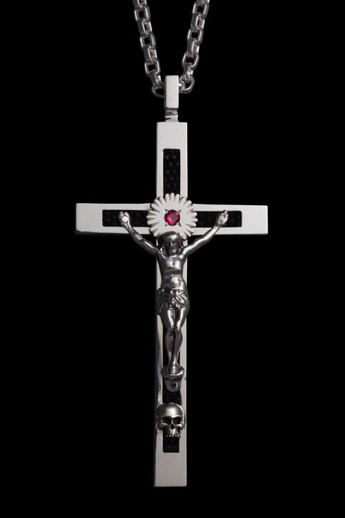SILVER925 + RUBY ROSARY