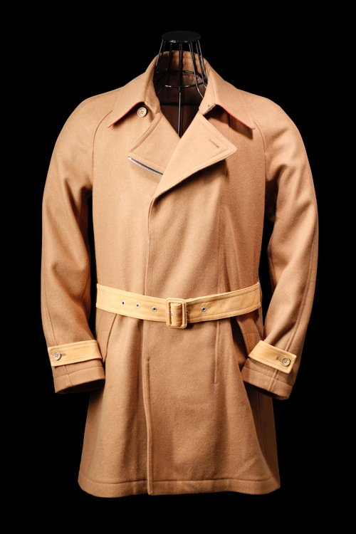MELTON TRENCH COAT