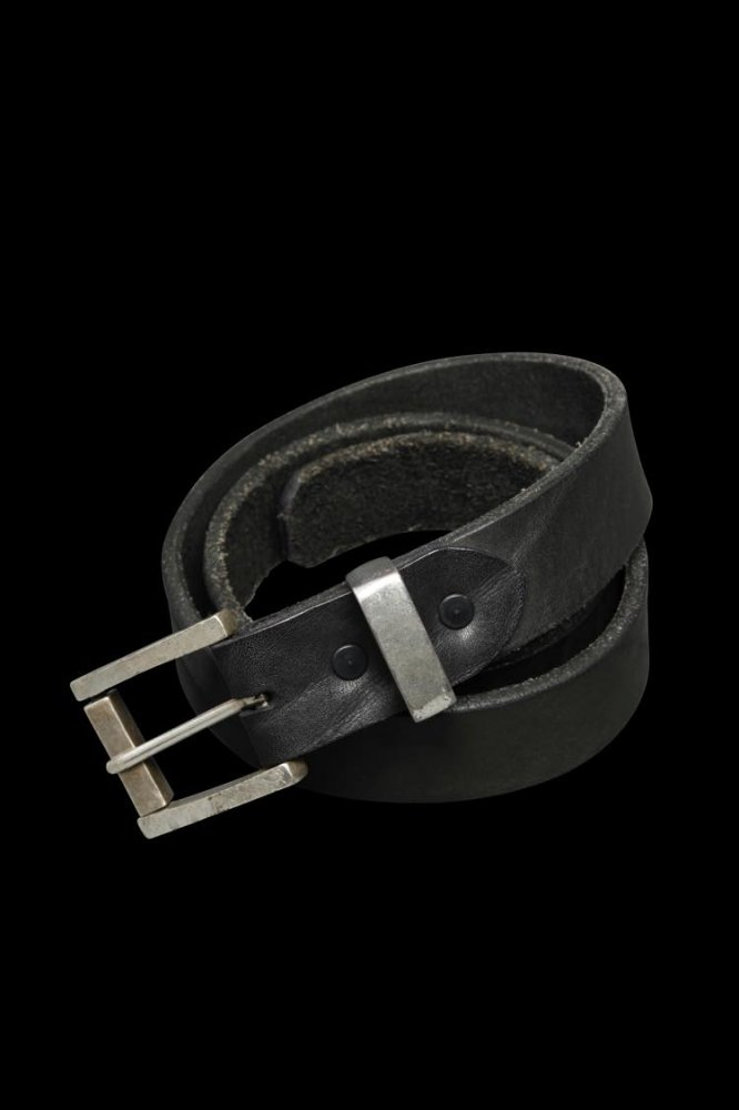 JP SHOULDER GARMENT-DYED ROLLER-BUCKLE BELT【35mm】