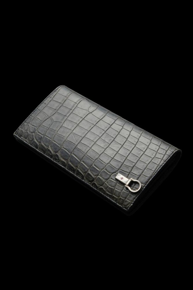 CROCODILE 2FOLD LONG WALLET