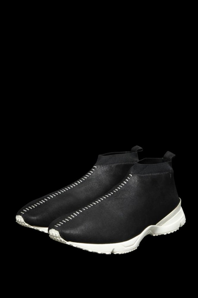 STRETCH NUBUCK SHEEP SOCKS SNEAKER