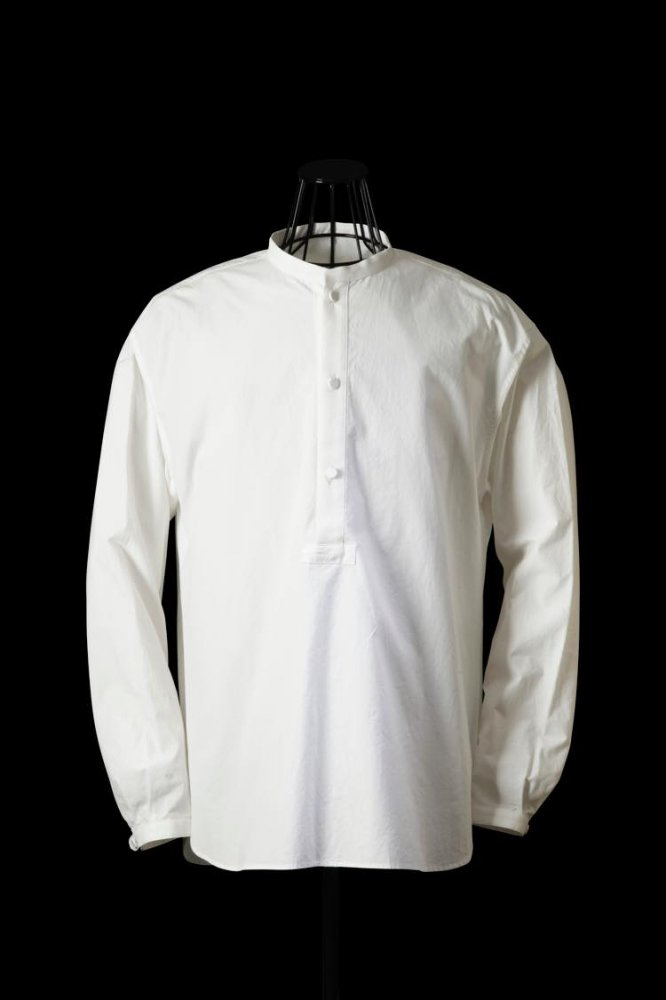 COTTON TYPEWRITER CLOTH PULLOVER SHIRT