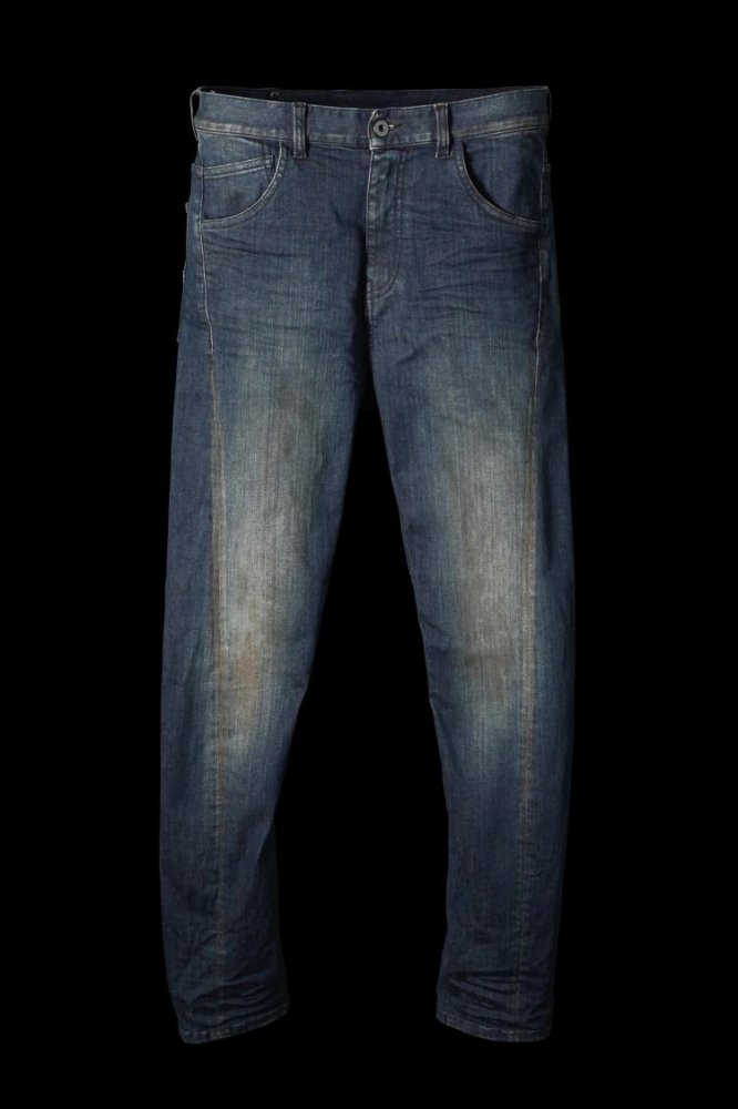 "ISKO MADE IN ITALY DENIM DIRTY ""SEMI-SARROUEL"""