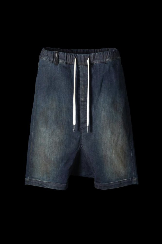 "ISKO MADE IN ITALY DENIM DIRTY ""SARROUEL SHORTS"""