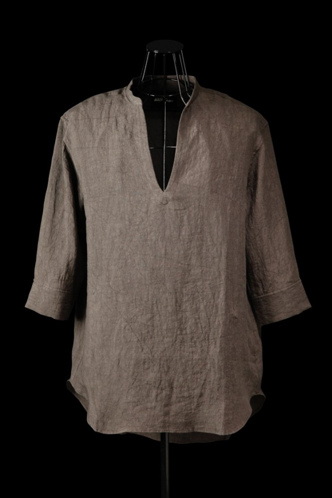 SOFT LINEN SKIPPER SHIRT