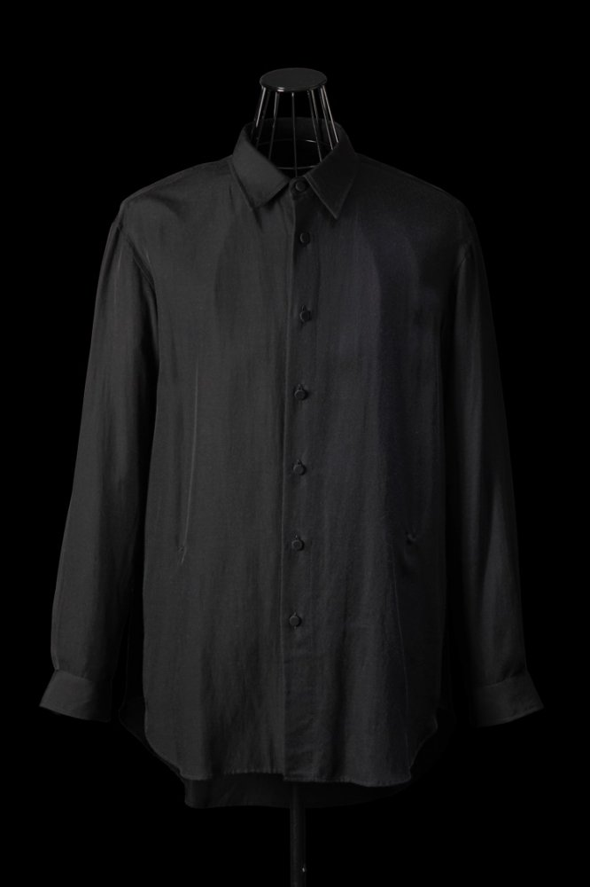 RAYON-COTTON OVERFITTING SHIRT L/S