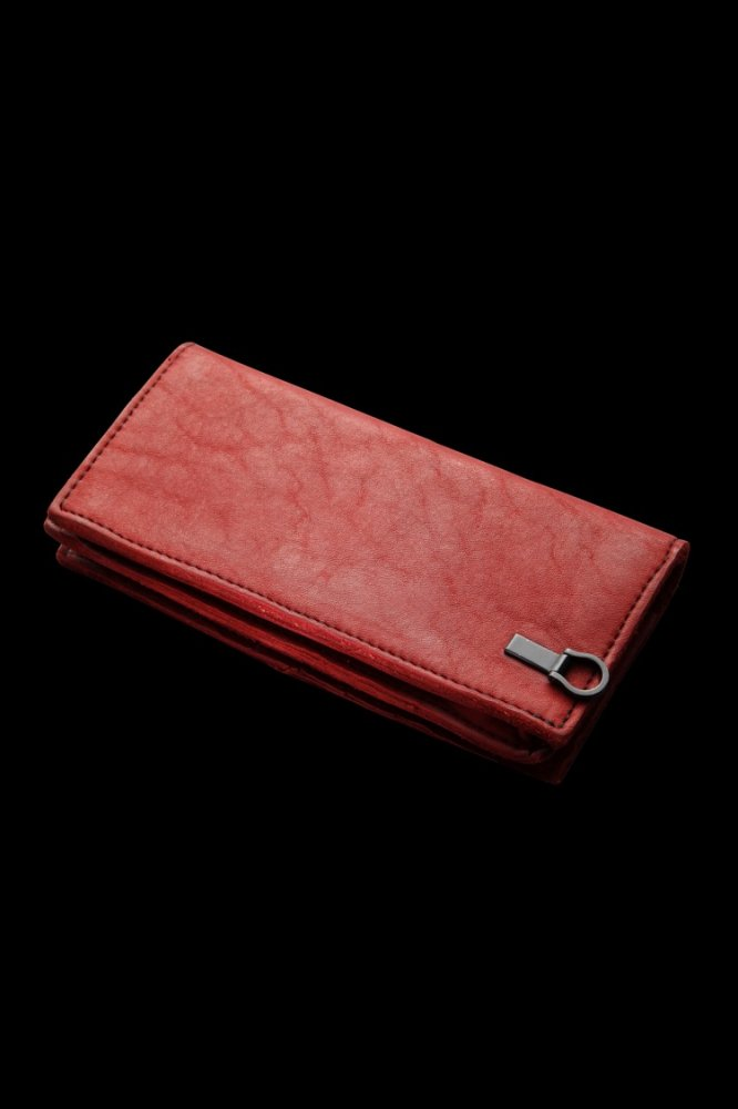 JP SHOULDER GARMENT-DYED 2FOLD LONG WALLET