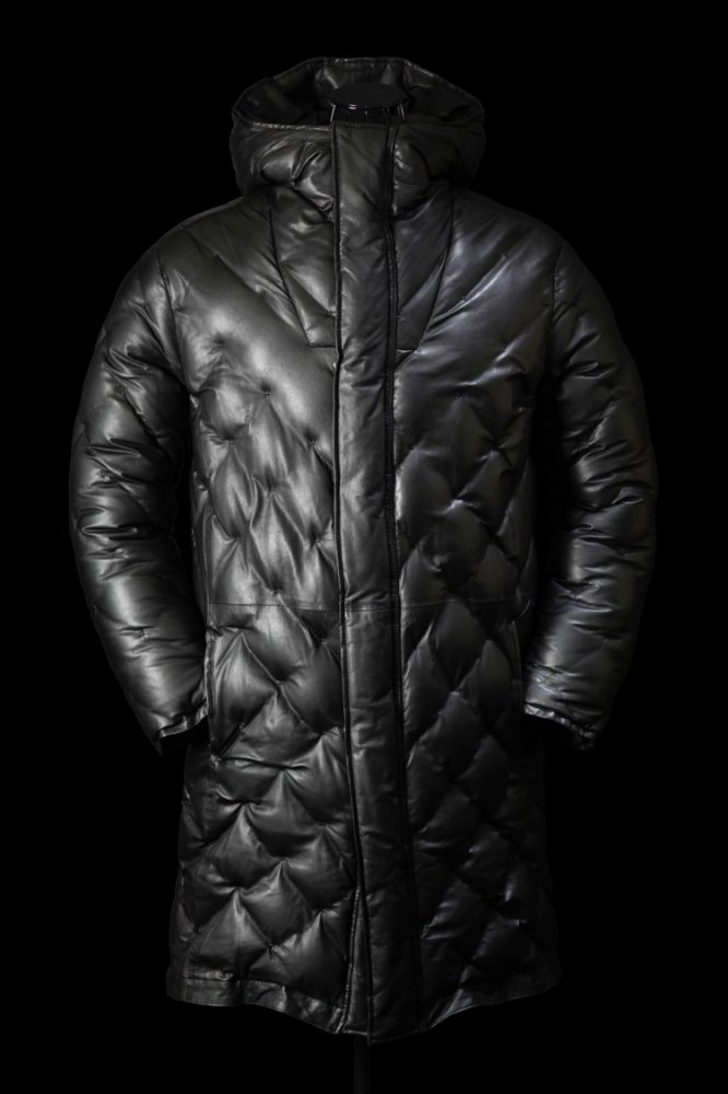 "KANGAROO ""POLISH WHITE GOOSE DOWN"" COAT"