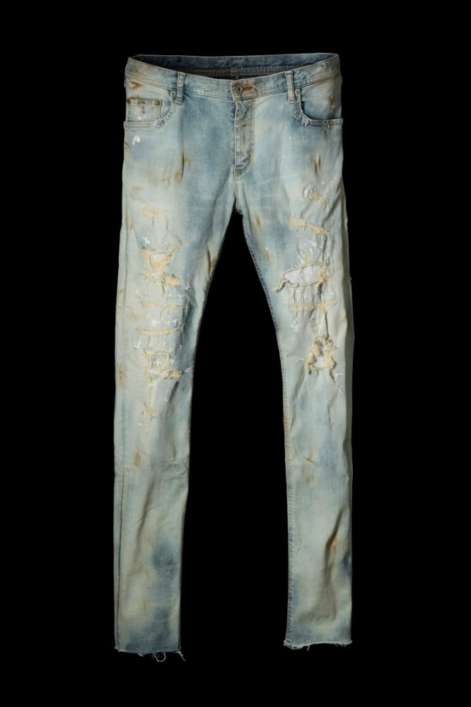 "CRAFTED BY RESURRECTION EXTREME STRETCH DENIM ""SKINNY"""