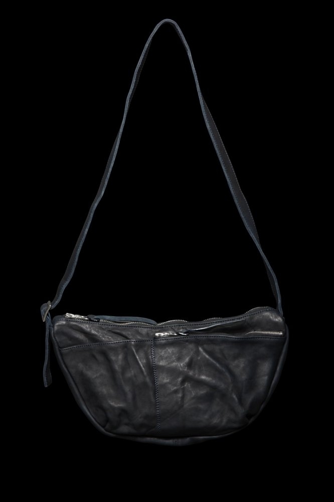 DOUBLE SHOULDER GARMENT-DYED SHOULDER BAG【SMALL】