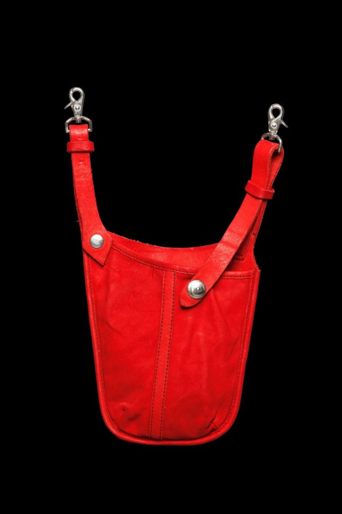 DOUBLE SHOULDER GARMENT-DYED WAIST HOLDER