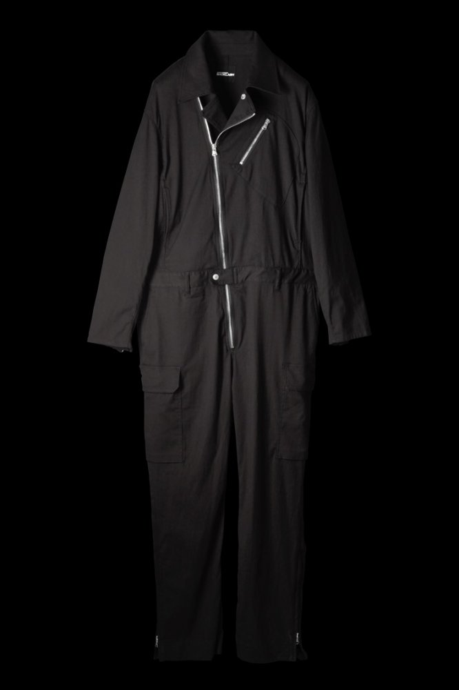 STRETCH COTTON JUMP SUIT