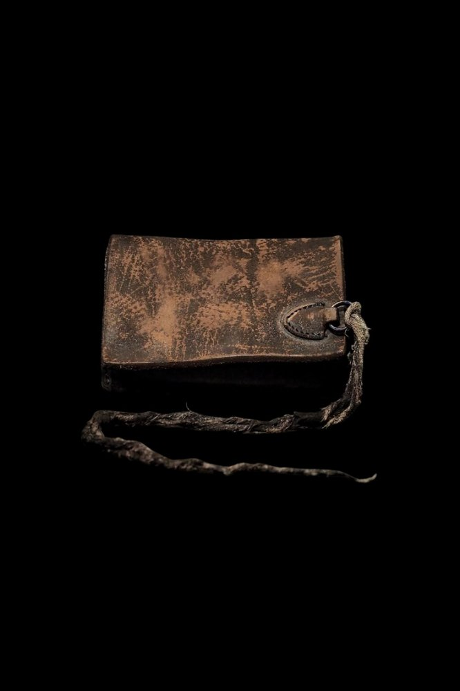 CRAFTED BY RESURRECTION GARMENT-DYED RUST EQUIPMENT 2FOLD WALLET