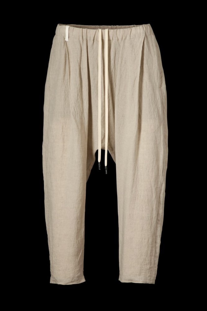 SOFT LINEN SARROUEL EASY PANTS