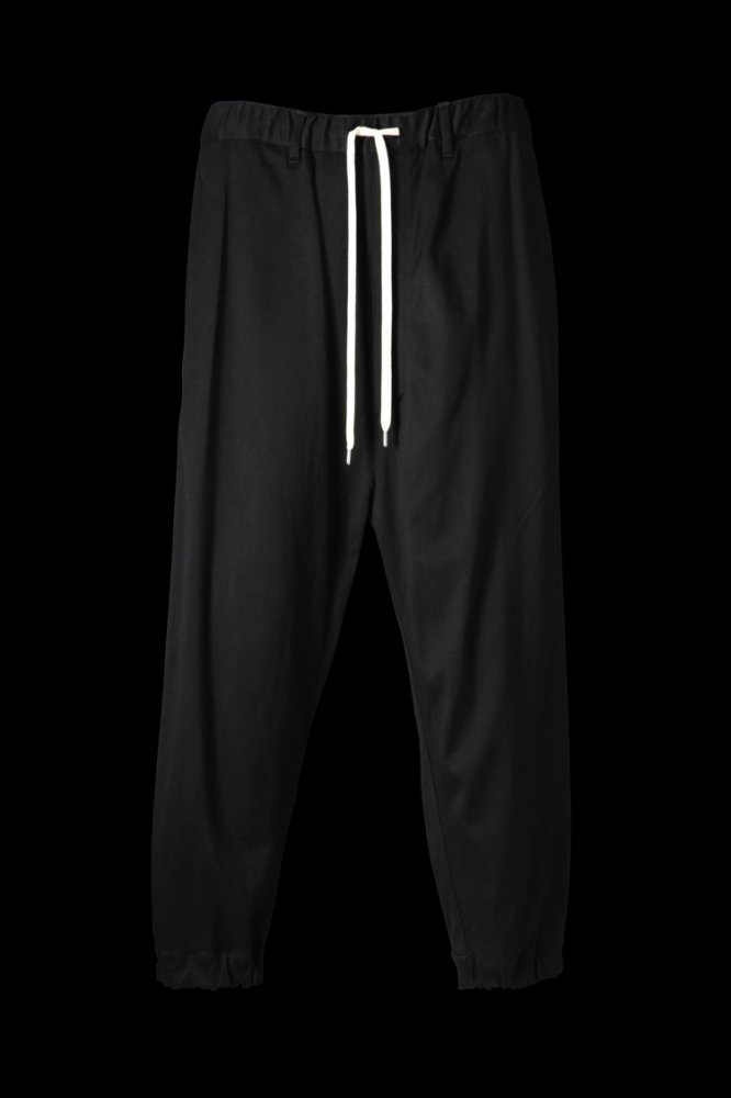 STRETCH RAYON-SILK WIDE TAPERED PANTS 2