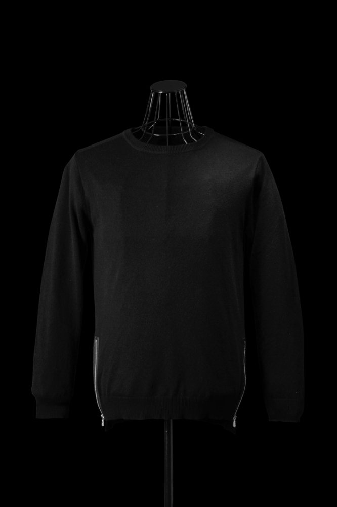 CASHMERE-WOOL KNIT TOPS / REGULAR FIT