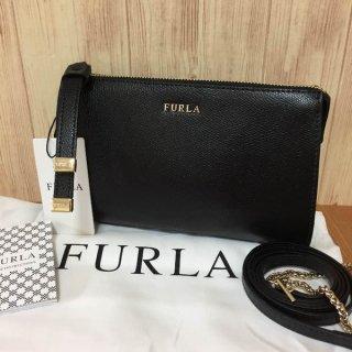 フルラ ショルダーバッグ FURLA EK40 LUNA S BAG ルナ ブラック