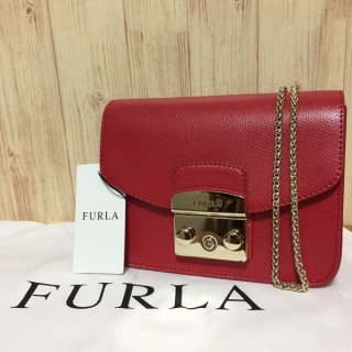 フルラ ショルダーバッグ FURLA メトロポリス 85117 RUBY