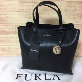 フルラ トートバッグ FURLA Sally S ブラック