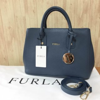 フルラ トートバッグ FURLA LINDA MINI AVIO SCURO 889651