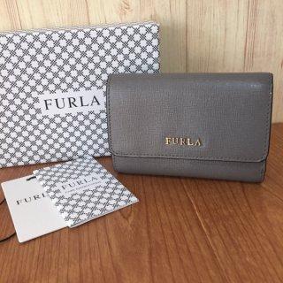 フルラ 財布 FURLA バビロン ラウンド コンパクト 三つ折り ARGILLA