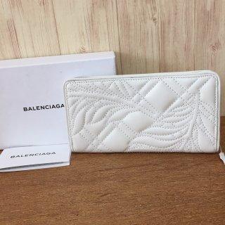 バレンシアガ 長財布 BALENCIAGA BLANKET MATELASSE