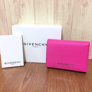 ジバンシィ 財布 GIVENCHY コンパクト ピンク