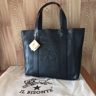 イルビゾンテ トートバッグ IL BISONTE A2591 ブラック