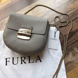 FURLA フルラ チェーン ショルダーバッグ CLUB