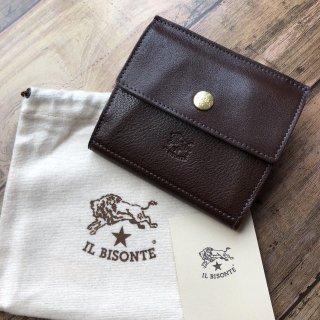 イルビゾンテ IL BISONTE C0910 Wホック 折り財布