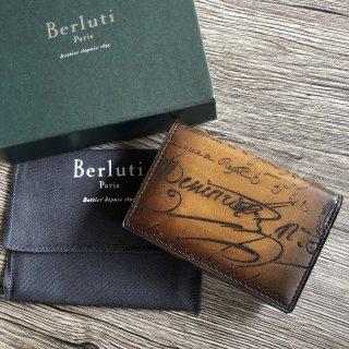 Berluti ベルルッティ Imbuia カードケース