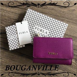 FURLA バビロン ラウンド コンパクト 三つ折り財布