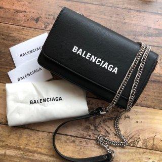 BALENCIAGA エブリデイ チェーンバッグ ブラック
